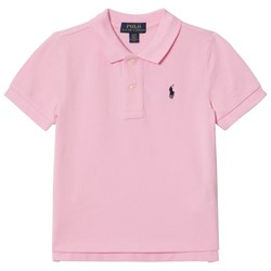 Ralph Lauren Pink Pique Polo with PP