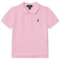 Ralph Lauren Pink Pique Polo with PP 003