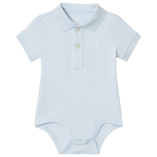 Ralph Lauren Blue Polo Baby Body with PP 001