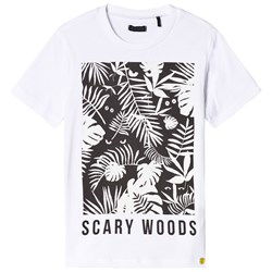 IKKS Scary Woods Glow in the Dark T-shirt Vit