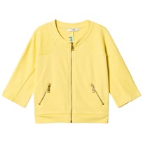 Guess Yellow Branded Tassle Zip Thru Jacket G211