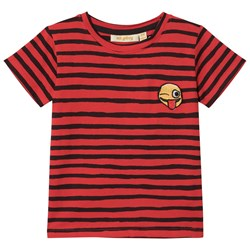 Soft Gallery Bass T-Shirt Flame Scarlet Ribbon