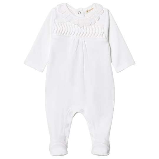 Mintini Baby Footed Baby Body White White