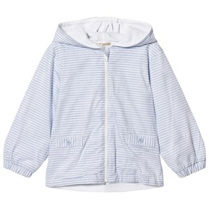 Image of Mintini Baby Blue and White Rain Jacket 24 mdr (2942029413)