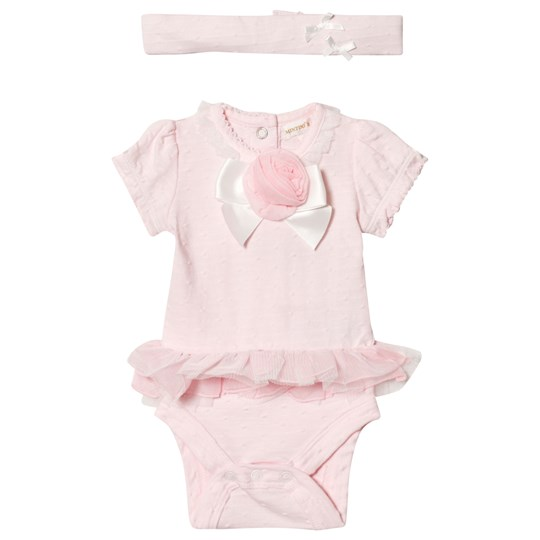 Mintini Baby Pink Body with Frill Detail Pink