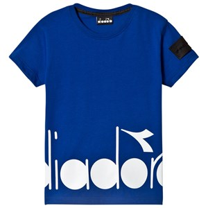 Image of Diadora Blue Branded Tee L (12 years) (2941126457)