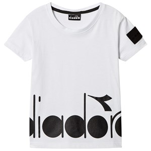 Image of Diadora White Branded Tee L (12 years) (2941130375)