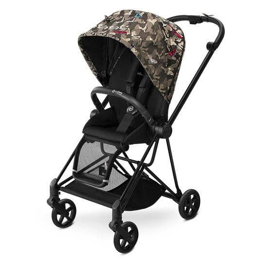 Cybex Mios Black Butterfly (komplet), 2018 Butterfly