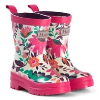 Hatley White Tortuga Bay Floral Rain Boots White