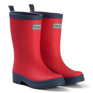 Image of Hatley Red & Navy Rain Boots 21 (UK 5) (993989)