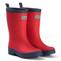 Hatley Red & Navy Rain Boots Red and Navy