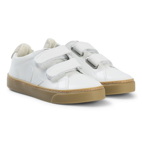 Veja Esplar Läder Natural Sneakers Extra White Extra White Natural Sole
