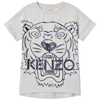 Kenzo Grey Tiger Print Dress 22