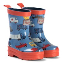 Hatley Rush Hour Rain Boots Blue Navy