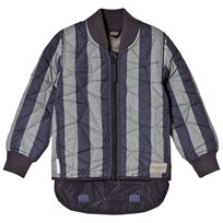 MarMar Copenhagen Orry Thermo Jacket Deep Blue Stripe DEEP BLUE STRIPE