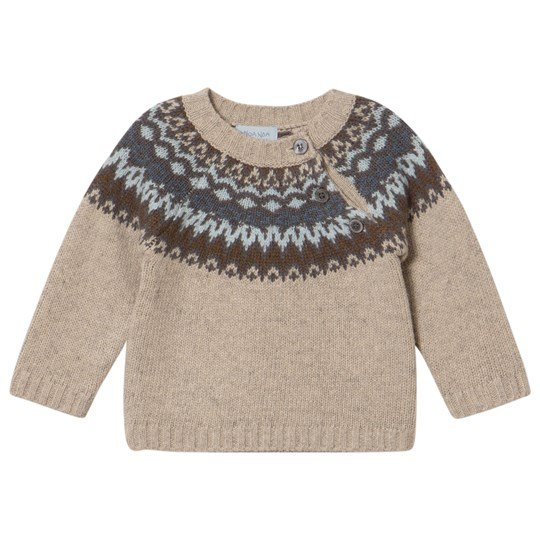 Noa Noa Miniature Silver Lining Long Sleeve Pullover Silver Lining