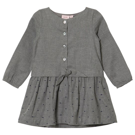Noa Noa Miniature Dress long sleeve,Knee Length GREY MELANGE Grey Melange