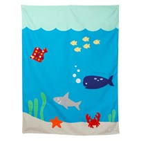 oskar&ellen Fishing Pond Screen Blue
