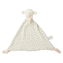 Lila&Lucas Lila Lamb comforter with rubber head Pink