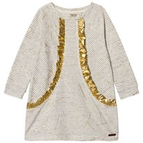 MarMar Copenhagen Darlana Dress Golden Sticks Print Golden Sticks Print