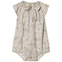 MarMar Copenhagen Rosalie Romper Waves Print Rose Waves Print Rose