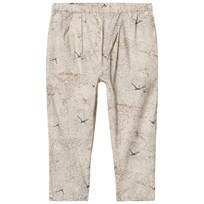 MarMar Copenhagen Penny Pants Waves Print Rose Waves Print Rose