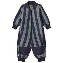 MarMar Copenhagen Oz Thermo Coverall Deep Blue Stripe DEEP BLUE STRIPE