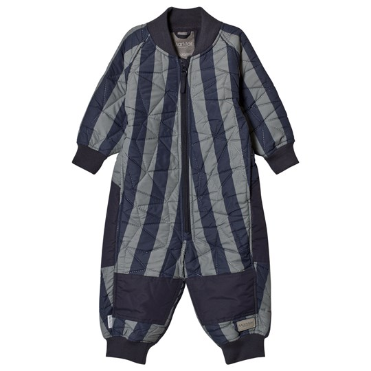MarMar Copenhagen Oz Thermo suit Deep Blue Stripe DEEP BLUE STRIPE