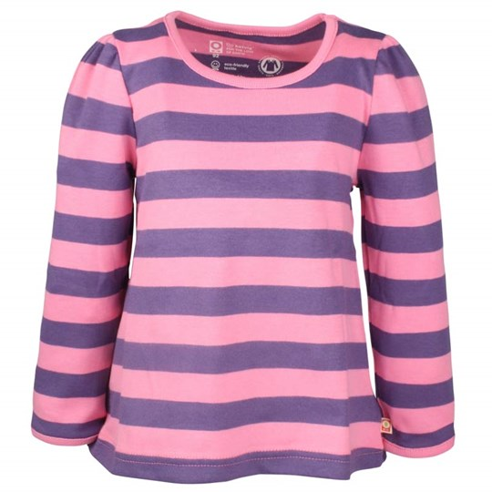 Katvig L/S Puff T-shirt Pink And Blue Multi