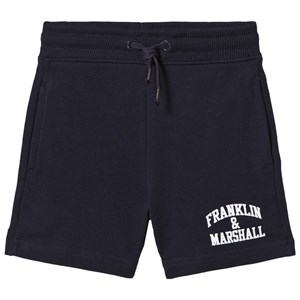 Image of Franklin & Marshall Navy Badge Logo Sweat Shorts 14-15 years (1050264)