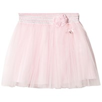 Le Chic Pink Tulle Giltter Skirt 215
