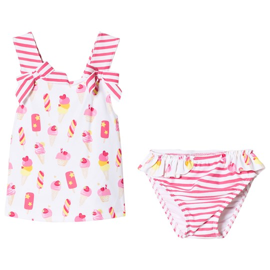 Mayoral Pink Ice Cream Print Swimsuit Set 14