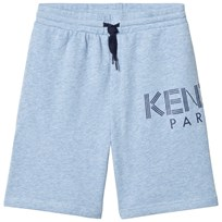 Kenzo Blue Marl Logo Sweat Shorts 420