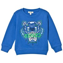 Kenzo Royal Blue Tiger Embroidered Sweatshirt 44