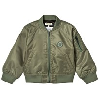 Kenzo Khaki Bomber Jacket with Tiger Logo 56