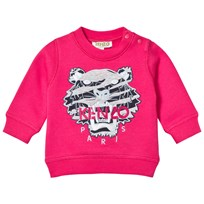 Kenzo Pink Fashion Tiger Embroidered Sweatshirt 35