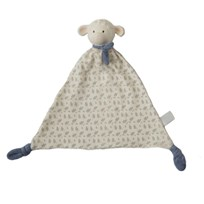 Lila&Lucas Lucas Lamb comforter with rubber head Blue