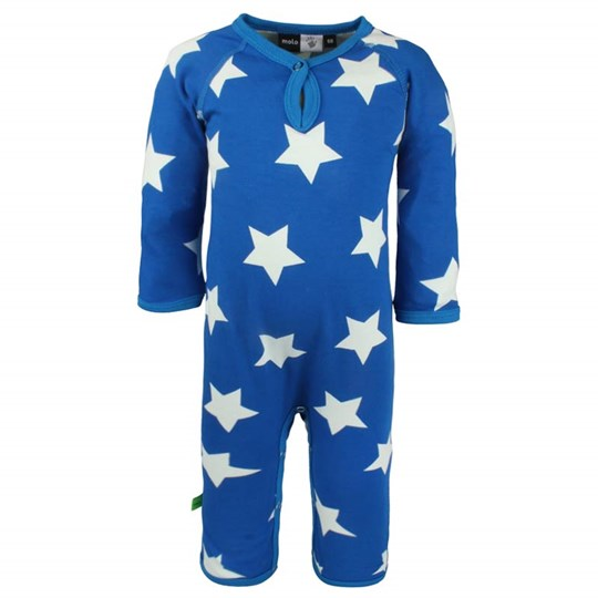 Molo Fleming Body Suit Surf Star Blue
