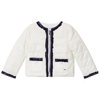 Mayoral White and Navy Padded Jacket 67