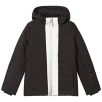 Fusalp Black Backcountry Hooded Jacket 010 Noir