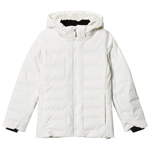 Image of Fusalp White Backcountry Hooded Jacket 10 years (2946009011)