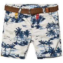 Mayoral Surf and Palm Tree Patterned Shorts 54