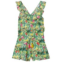 Mayoral Green Ruffled Playsuit 8