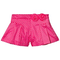 Mayoral Polka Dot Shorts with Pleats Pink 29