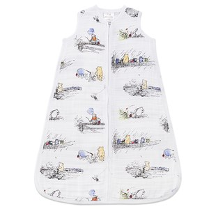 Image of Aden + Anais Winnie the Pooh Print Sleeping Bag Large (12-18 months) (3038344159)