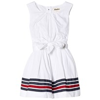 Hatley White Sateen Party Dess White