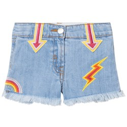 Stella McCartney Kids Embroidered Marlin Shorts