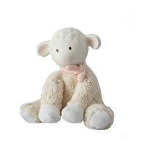 Lila&Lucas Lila Lamb toy with rubber head Pink