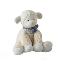 Lila&Lucas Lucas Lamb  toy with rubber head Blue