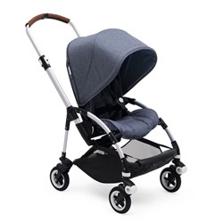 Bugaboo Bee5 Complete Blue Melange/Aluminum Chassis